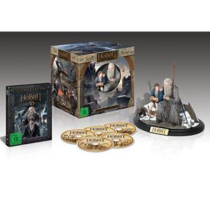 (Real Markt) Der Hobbit: Die Schlacht der fünf Heere [Extended Collector's Edition] [3D Blu-ray] [Limited Edition] für 25 Euro