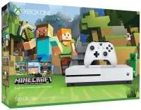 [olano.gmbh@Rakuten] Microsoft Xbox One S weiß 500GB inkl Minecraft 25-fach Superpunkte i.d.H.v. 59,90€