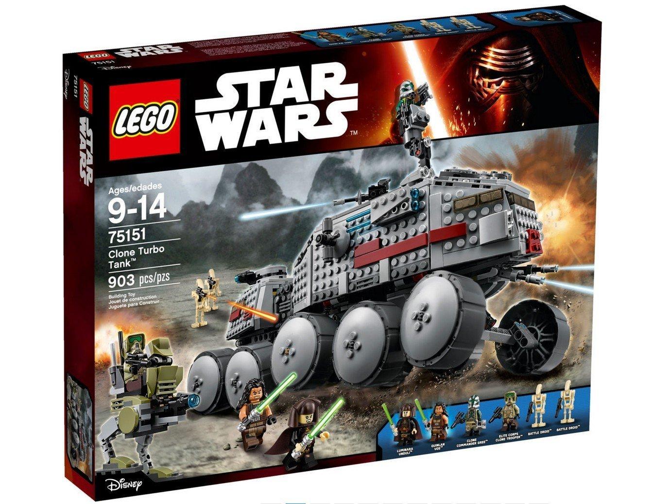 LEGO Star Wars 75151 Clone Turbo Tank für 29€ inkl VSK @ Amazon.co.uk nur für Prime Mitglieder