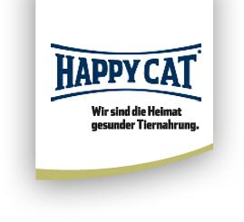 Katzen Futterproben bei Happycat kostenlos bestellen.