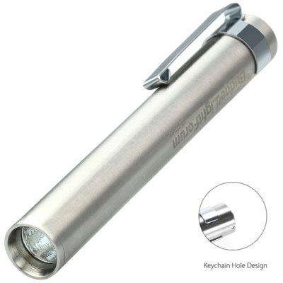 (Gearbest-App) BLF-348 Mini EDC Taschenlampe - 240 Lumen, CRI90, AAA / 10440, Geschenkbox