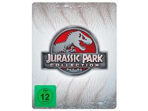 Jurassic Park Collection (1-4) - Steelbook (Bluray) für 19 versandkostenfrei [Mediamarkt + Amazon]