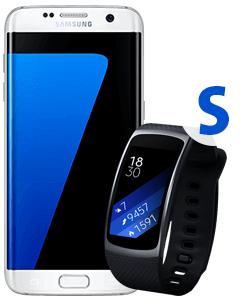 Vodafone Smart L für 34,99  + Samsung Galaxy S7, Samsung Gearfit 2 (S/L) für 1