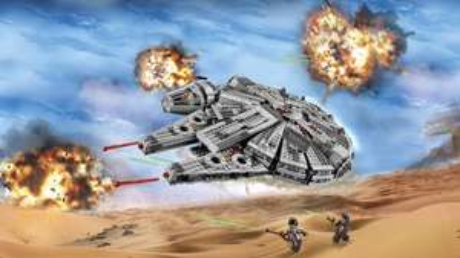LEGO® Star Wars™- 75105 Millennium Falcon @ Airport Frankfurt