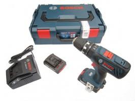Bosch Akku-Schlagborschrauber GSB 18-2-Li PLUS >> inkl. 2 x 2,0 Ah Li-ion Akku, Schnellladegerät und L-Boxx