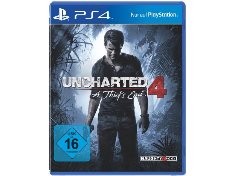 Uncharted 4: A Thief's End (PS4) für 25€ versandkostenfrei [Mediamarkt]