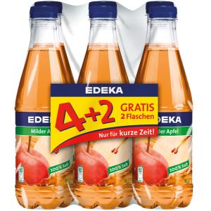 EDEKA Fruchtsäfte 4+2 gratis @ NP Supermarkt