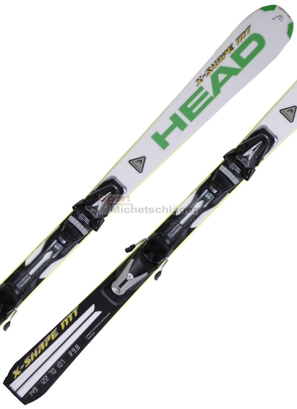 [sport sofort online] Head Ski X-Shape MT mit Bindung Tyrolia Power 11 black/yellow 166/170/177cm - mit Amazon & Paypal zahlbar