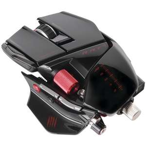 Mad Catz R.A.T. 9 Wireless Gaming Maus, 6400 dpi, PC und MAC