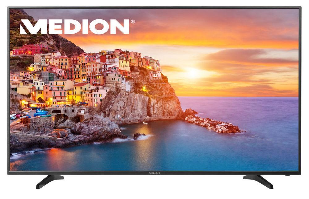 "MEDION LIFE P18088 UHD 4K 163,8 cm/65"" LED-Backlight TV DVB-T2/-C/S2 HDMI USB A für 699.- Euro"