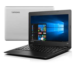 "Lenovo 100S-11IBY Notebook 11.6""; Z3735F; 2GB RAM; 32GB Flash; 11,6""; Win 10; 1kg; 7h Akkulaufzeit, silber @ NBB.de"