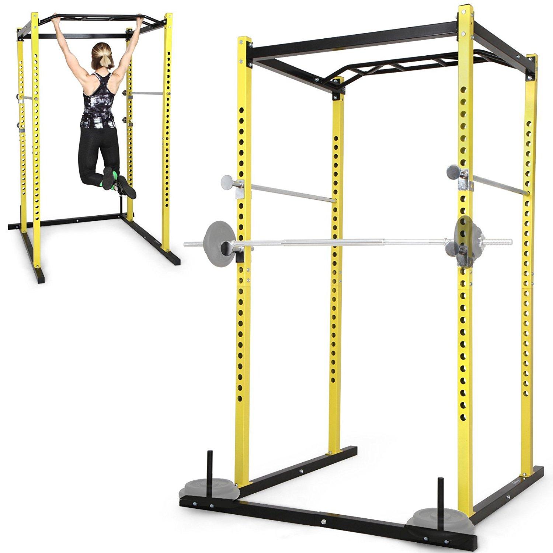 Einfache Fitnessstation für Krafttraining (Powerrack) für 159,95 € (+ 39,75 € in Superpunkten zurück) bei [Rakuten]
