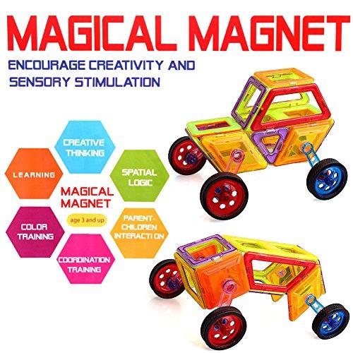 Amazon Prime Magnetische Bausteine Magnetische Bauklötze 64 Stück 16,49€