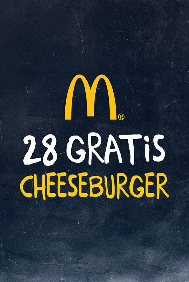 [Mc Donald's Lokal Schlüchtern und Umgebung] Gratis Cheesburger jeden Tag im Februar