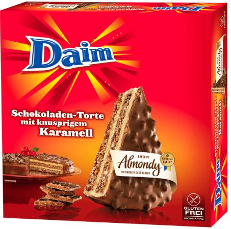 Almondy Daim oder Marabou Torte 400g für 2,22€ bei Zimmermann ab 30.01.17
