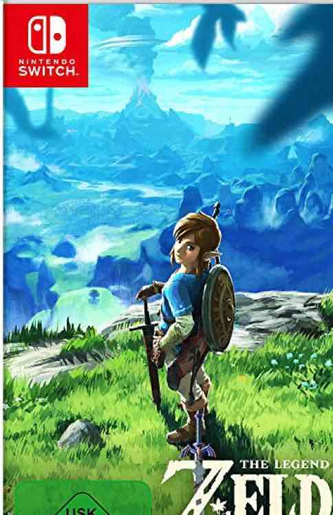 [Amazon.de] [Prime] The Legend of Zelda: Breath of the Wild [Nintendo Switch]