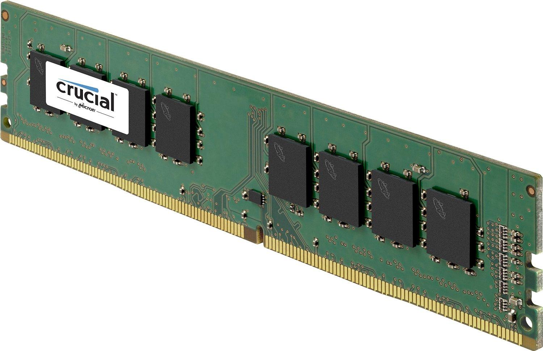 Crucial DIMM DDR4-2133 8GB (1x 8GB) für 38,39€ [Prime only] oder DDR4-2400 8GB (1x 8GB) für 39,51€ [Amazon]