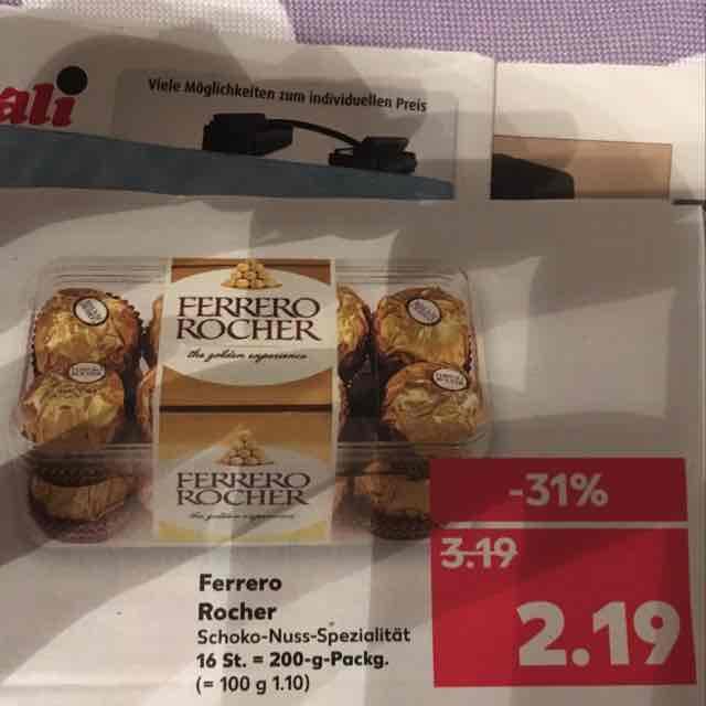 Kaufland Ferrero Rocher 16Stk - 200g