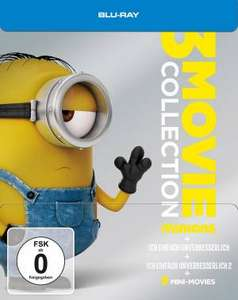 Minions – 3 Movie Collection / Limited Steelbook (Blu-ray) für 16,96€ inkl. VSK (Media-Dealer)