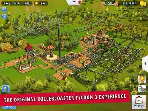 [ios] RollerCoaster Tycoon® 3