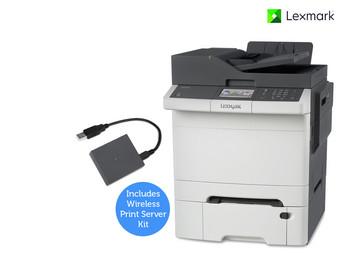 [@ibood] Wieder zu haben! Lexmark CX410dte Multifunktions-Farblaserdrucker + WLAN-Druckserver