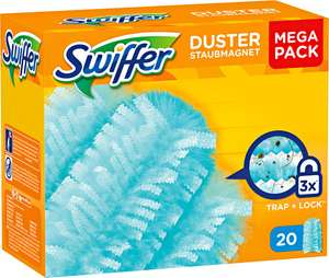 [Kaufland bundesweit] Swiffer Duster Ersatz-Staubmagnettücher Mega Pack (20 Stück)