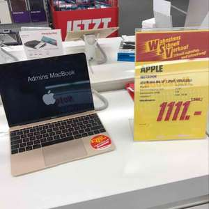 "MacBook 12"" 512GB Model 2015 MK4N2D ***Lokal"