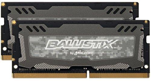 Ballistix Sport LT 16GB Kit (8GBx2) DDR4 2400 MT/s (PC4-19200) SODIMM 260-Pin @amazon.de