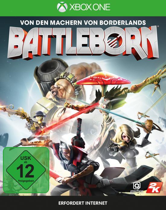 (Gamestop Offline) Battleborn PS4 XBOX One PC