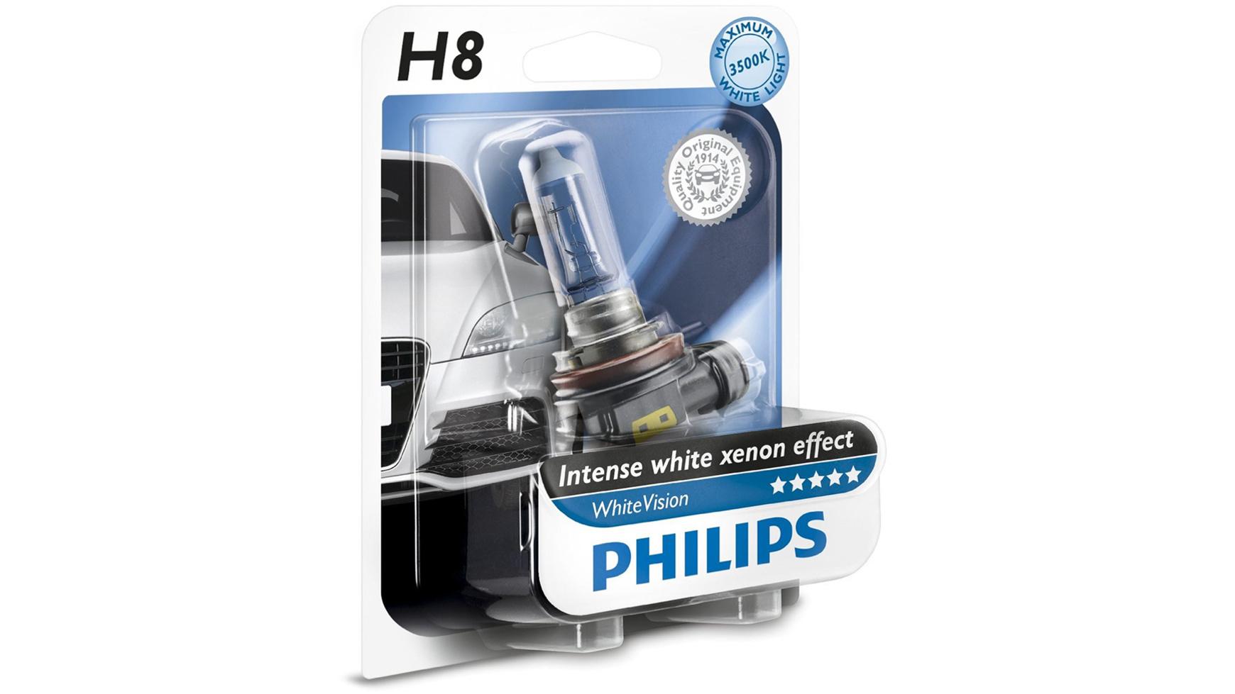 [DAPARTO - Preisfehler?] Philips WhiteVision Xenon-Effekt H8 für 17,08€ (2Stk. für 28,26€) inkl. Versand
