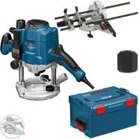 Bosch GOF 1250 LCE inkl L-BOXX für 359,50€ + 53,85€ @ Rakuten - Oberfräse mit 1250 Watt