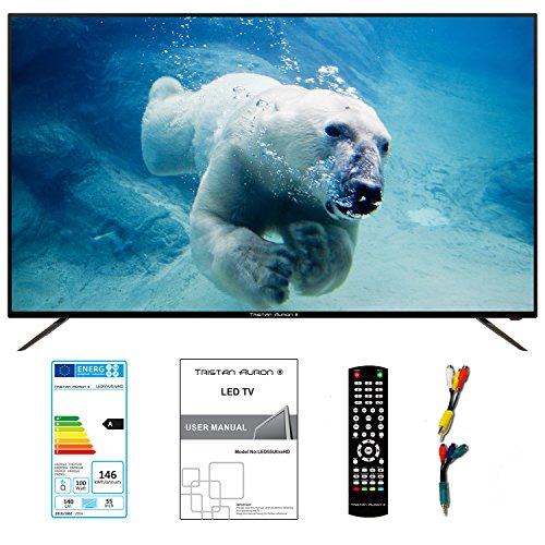 55 Zoll UHD 4K TV von Tristan Auron mit LED Backlight und Triple Tuner