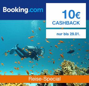 (Shoop) Booking.com: 10€ Cashback auf alle Hotelbuchungen ab 89€