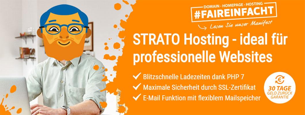 Website Hosting für 1,83 EUR/Monat inkl. Domain und SSL-Zertifikat