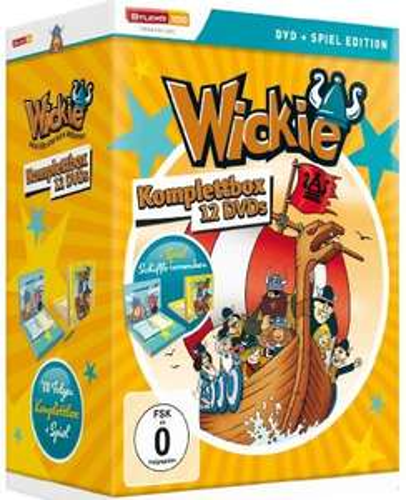[Amazon Prime] Wickie und die starken Männer - Komplettbox (12 Discs, Spiel-Edition)