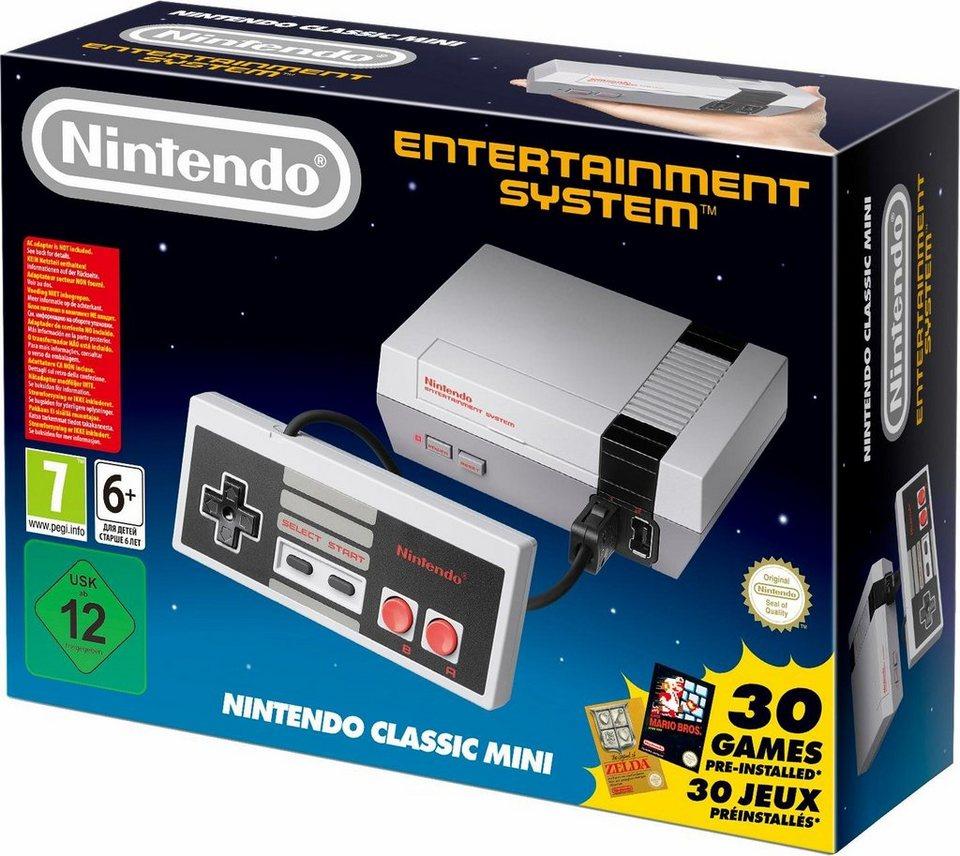 Nintendo NES mini wieder vorbestellbar + Rabatt + kostl. Versand Otto Neukunden