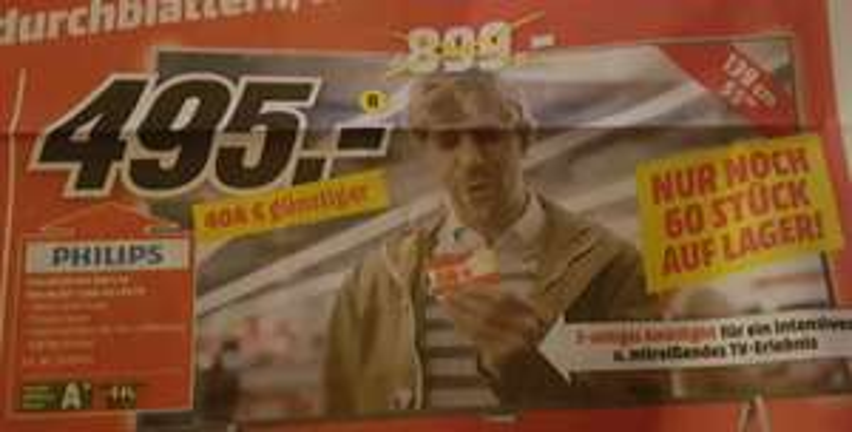 [Lokal Wiesbaden] Media Markt Philips 55PUS6201 4K / UHD