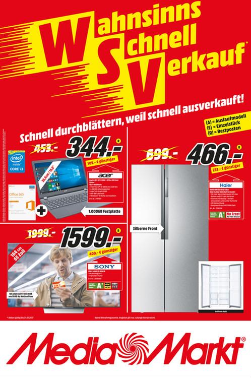 Media Markt WSV Flyer für Köln- Kalk