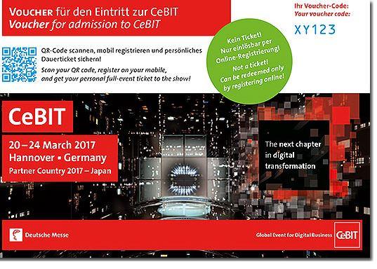 CeBIT und Hannover Messe Kostenlose E-Tickets für IG Metall-Mitglieder