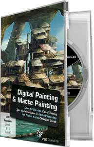 Digital Painting & Matte Painting mit Photoshop-Video-Training für 9,99€ statt 39,95€