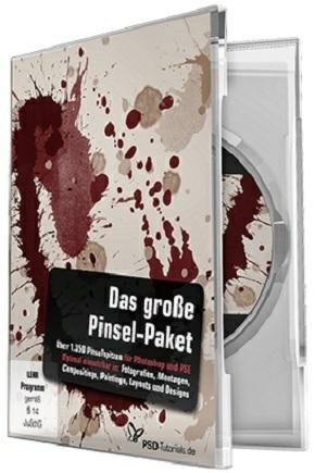 Das große Pinsel-Paket für Photoshop auf DVD für 9,99€ statt 39,95€