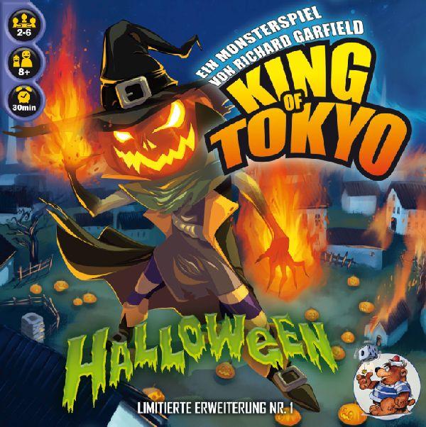 """[Milan-Spiele] 2 Erweiterungen für King of Toyko - """"Halloween"""" & """"Power up!"""" je 4,90€ + 4,50€ Versand statt idealo 14,79€/12,58€ + Gratis Promo"""