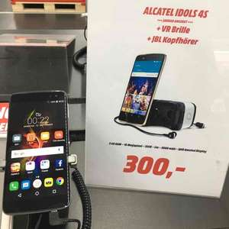 Alcatel Idol 4s + VR Brille lokal Media Markt Reutlingen 299,-