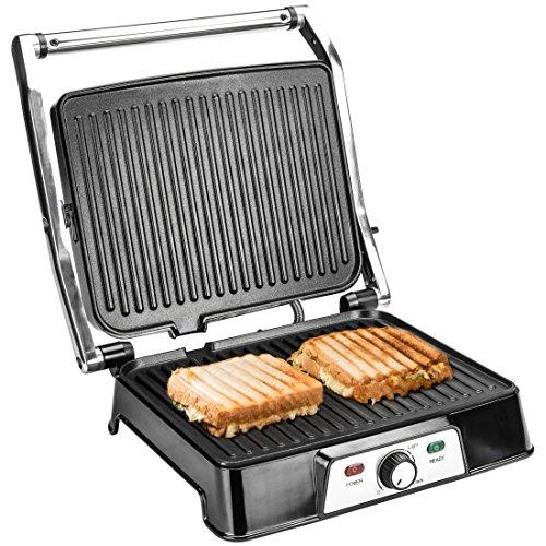 [Amazon] Ultratec 2 in 1 Kontaktgrill CG2000, 2000 Watt, Barbecue-Funktion