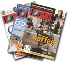1 Jahr Focus Abo Print komplett kostenlos und unverbindlich - auch als ePaper zu haben