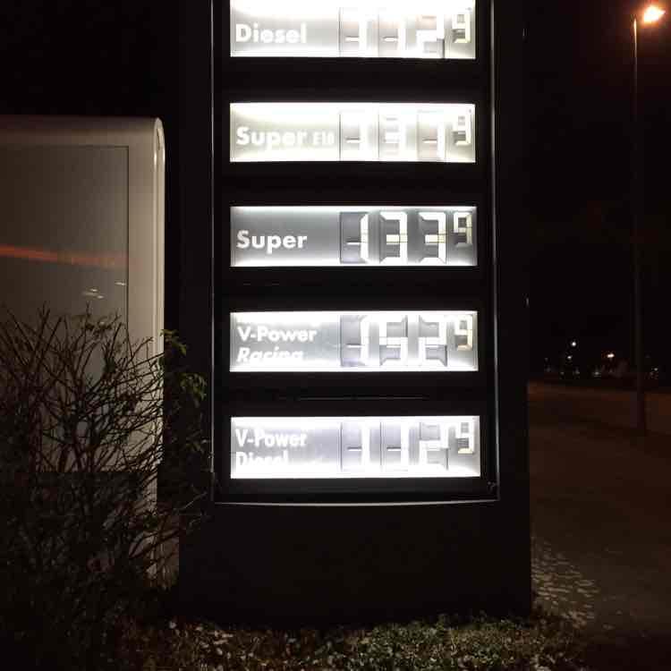 [lokal] Krefeld Shell Glockenspitz V Power Diesel zum normalen Diesel Preis