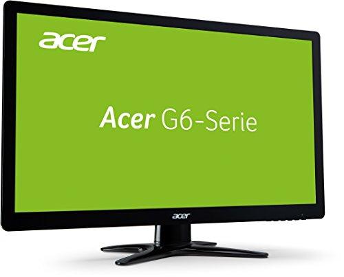 Acer G276HLJ 69 cm (27 Zoll) Monitor (VGA, HDMI, DVI, 1ms Reaktionszeit, 1920 x 1080, EEK B) schwarz