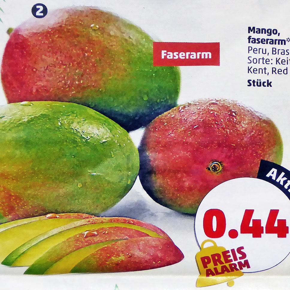 Mango faserarm für nur 0,44€ bei (Penny)