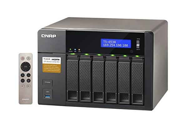 QNAP TS-653A-4G 6TB (6 x 1TB WD) 6-Bay NAS Unit mit 4GB RAM rot Amazon Frankreich