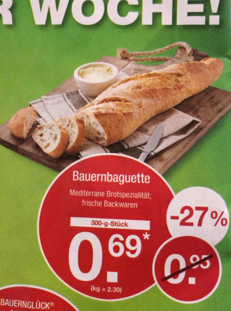 [ALDI-Nord | 02.02.] Bauernbaguette 300g | 0,69€